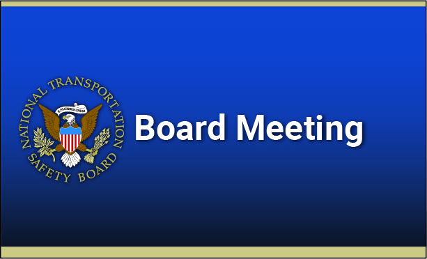 The National Transportation Safety Board announced its intention to hold a board meeting on Nov. 5, 2019, to adopt the findings and recommendations of Safety Research Report 'Bicyclist safety on US Roadways: Crash Risks and Countermeasures.'