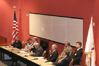 Partnerships and alliances - Photo of a meeting between the NTSB and other federal agencies