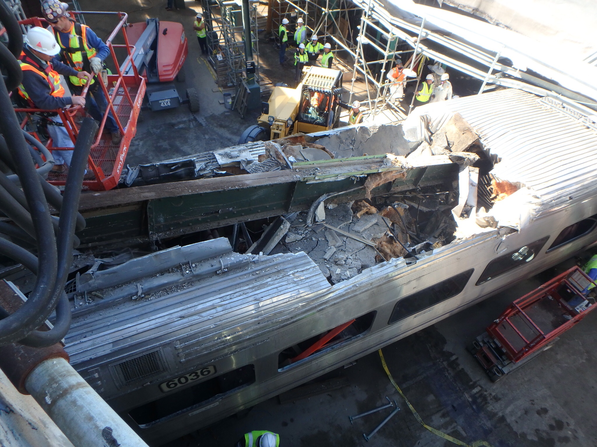 New Jersey Transit's Hoboken crash was a tragic illustration of an agency in disarray. (Source: NTSB)