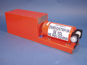 Photo of a Flight Data Recorder