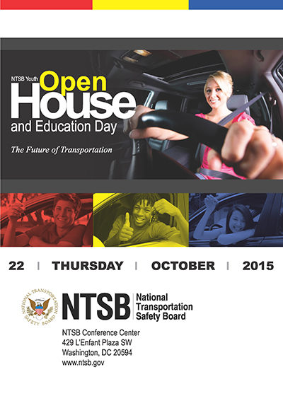 Youth Open House and Transportation Educational Day Poster