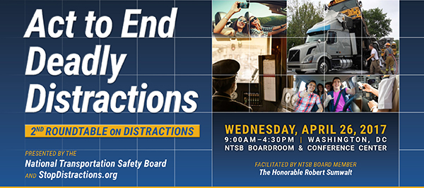 Act to End Deadly Distractions header graphic