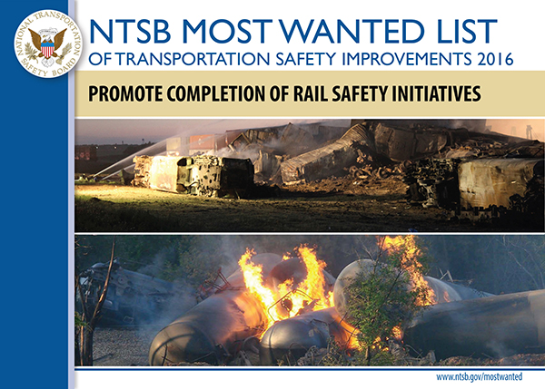 NTSB Most Wanted List graphic for Implement PTC