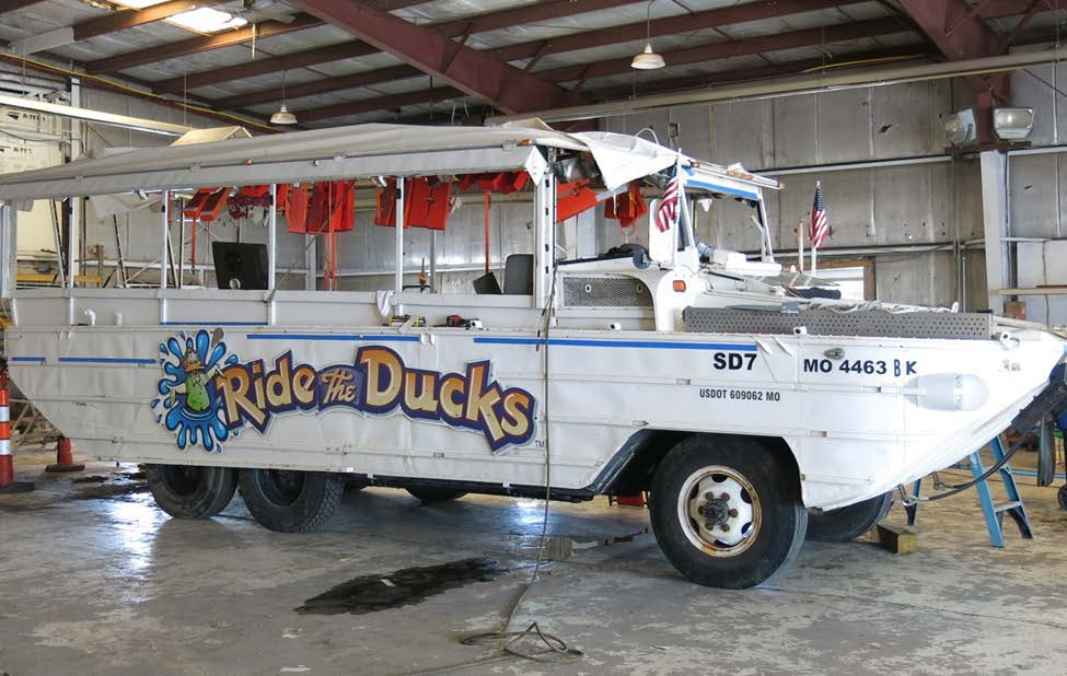 Photo of the Stretch Duck 7.