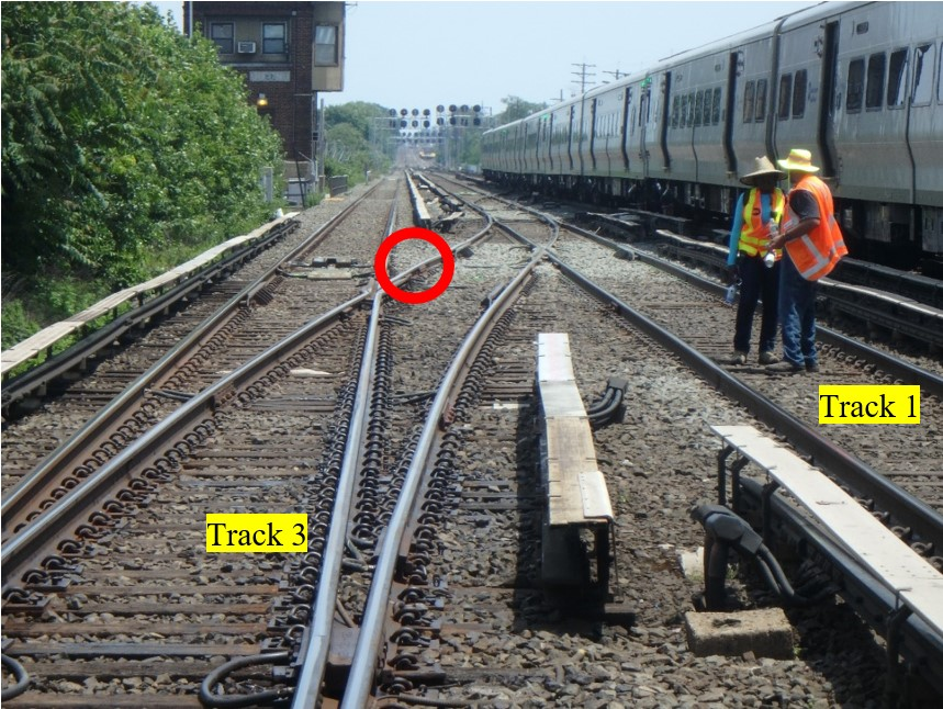 This photo illustration depicts the accident scene on June 11, 2017.
